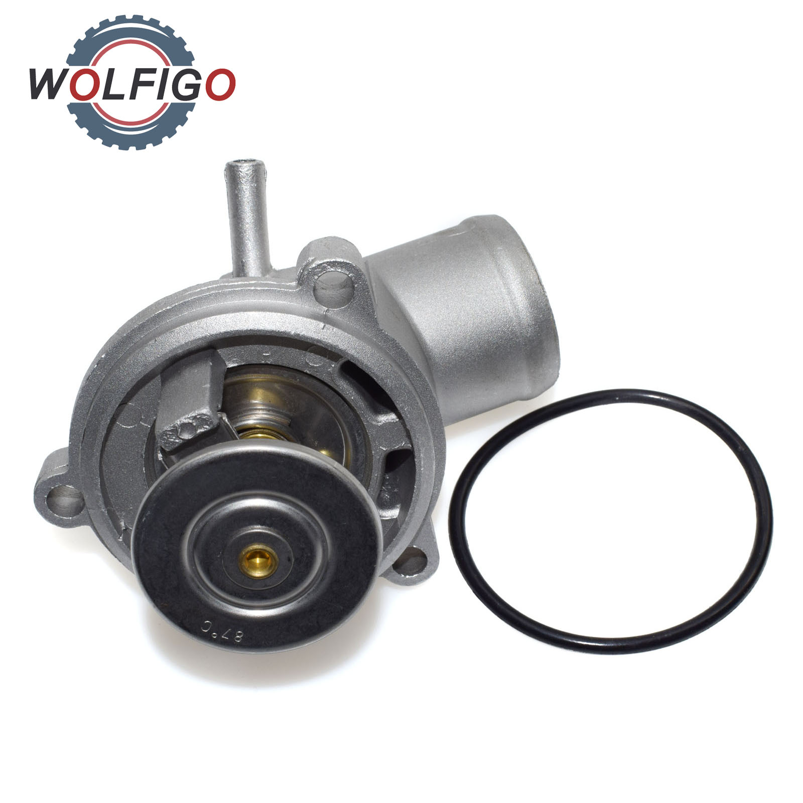 WOLFIGO Engine Coolant Thermostat For Mercedes Benz W202 C208 S124 VITO  DAEWOO SSANGYONG MUSSO REXTON 1112030975 1112030875-in Thermostats & Parts  from ...