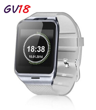 Free Shipping Hot 2016 New Smart Watch Phone 1 55 Bluetooth SmartWatch gv18 Phone Sync Call