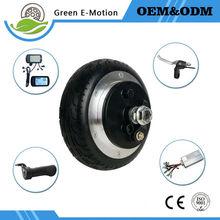 light small wheel 6 inch 24v 250w electric wheel motor hub motor kit electric scooter skateboard motor folding bike wheel motor