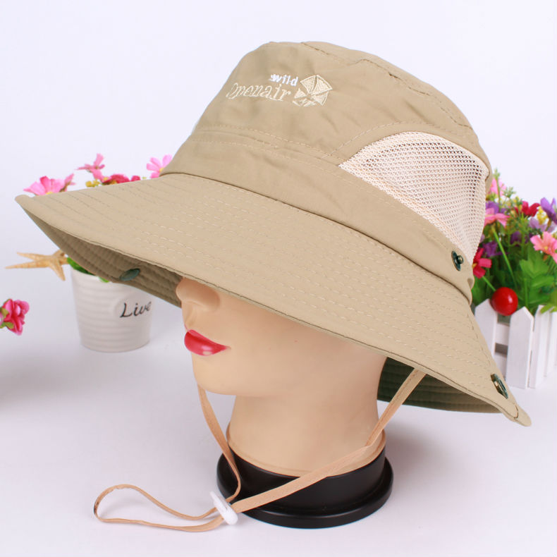 HotSelling bucket hats Fashion Cap Hunting Fishing hats Sun Block Camping Bucket Hat Cap Sun hat freeshipping AW7212