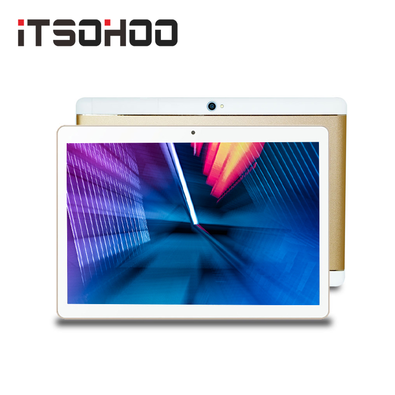ITSOHOO New 10 Inch  3G Phone Call Android Tablet Quad Core MTK 2GB 32GB  WiFi Bluetooth GPS IPS Tablets
