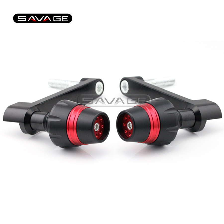 For HONDA CBR 1000RR CBR1000RR 2008 2009 2010 2011 Red Motorcycle Frame Slider Crash Protector Bobbins Falling Protection arashi motorcycle radiator grille protective cover grill guard protector for 2008 2009 2010 2011 honda cbr1000rr cbr 1000 rr