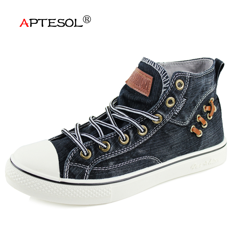 APTESOL Unisex Couples Canvas Vulcanize Shoes Women's Men's Lace Up Walking Sneakers Comfortable Breathable Flats for Women Men tfsland men women genuine leather loafers students white shoes unisex spring round toe lace up breathable walking shoes sneakers