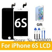 3D Touch хорошее качество AAA для iphone 6S ЖК-дисплей Экран с сенсорным планшета Дисплей сборки Замена Белый Черный