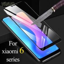 Xiaomi redmi 용 보호 유리 note 6 pro 6a 강화 유리 ksiomi xiomi a6 6pro 화면 보호기 flim 안전 시트 갑옷