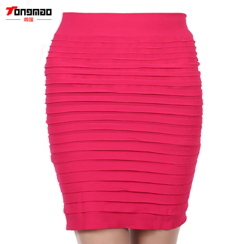TONGMAO New Fashion zomer stijl Elastische vrouwen rokken Hoge taille - Dameskleding