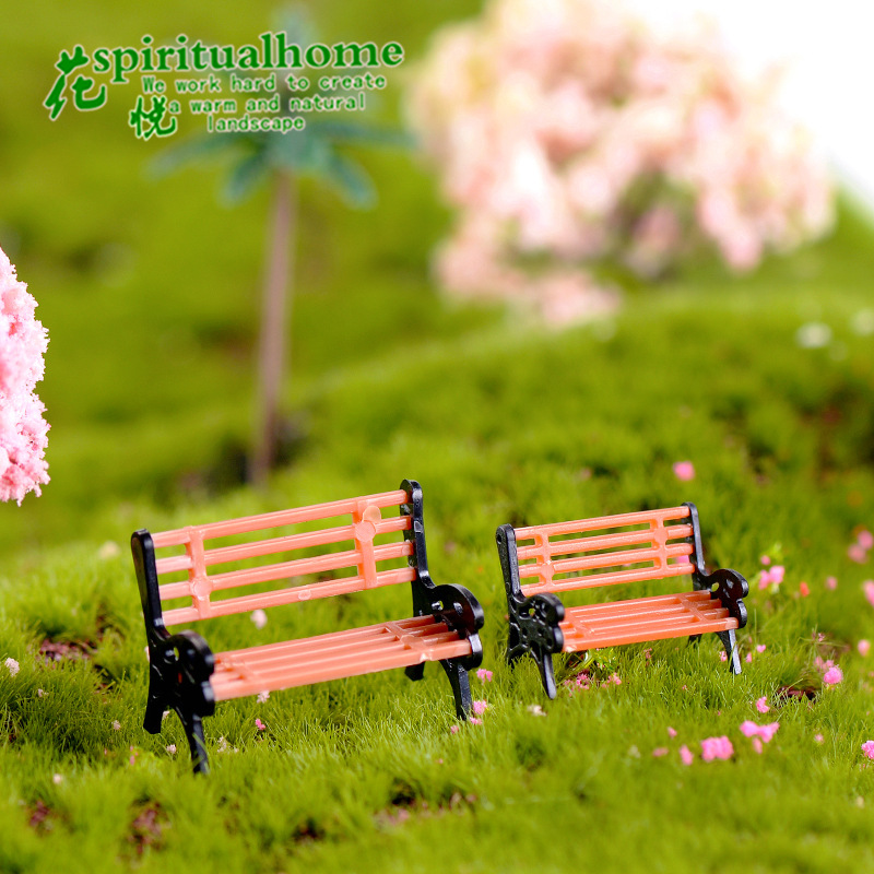 Outstanding Us 0 32 10 Off Park Chairs Stools Moss Micro Landscapes Meat Ornaments Creative Decorations Home Decor Miniature Garden Miniatures Figurines In Pabps2019 Chair Design Images Pabps2019Com