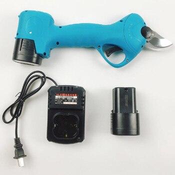 Секаторные ножницы литий-ионная аккумуляторная батарея секатор филиал Резак Электрический секатор инструмент сад