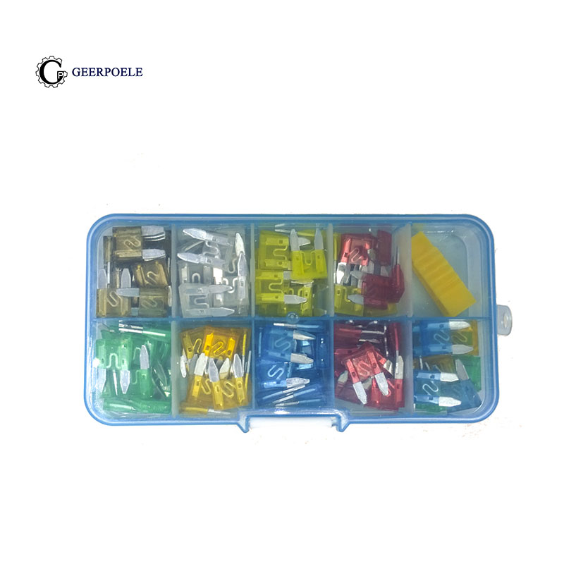 120pcs 1 Box New mini Auto Automotive Car Boat Truck Blade Fuse Box Assortment 5A 7.5A 10A 15A 20A 25A 30A standard 120pcs set auto automotive car boat truck blade fuse box assortment 5a 10a 15a 20a 25a 30a power tool accessories