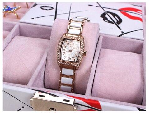 Special gift case for Women makeup organizer box home storage desk organization mirror jewelry watch colorful holder box WBG1092