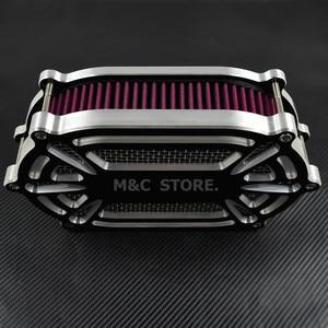 Image 4 - Воздухоочиститель для мотоцикла, красный комплект для Harley XL Sportster 04 19 Dyna 00 17 Touring Street Glide Road Glide Dyna Softail
