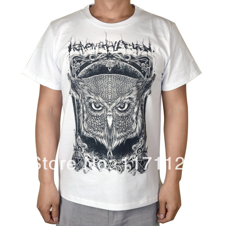 Free shipping Heaven Shall Burn - Iconclast White T-Shirt size:S-XXL
