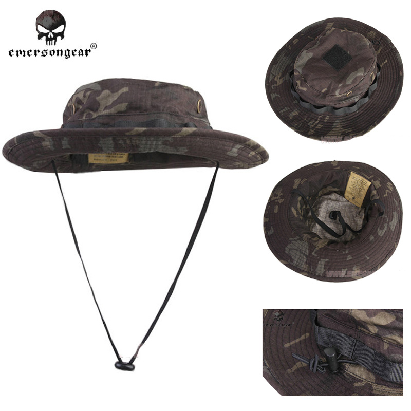 EmersonGear MCBK Sniper Camouflage Boonie Hat  Mountaineering Hat Riding Hat