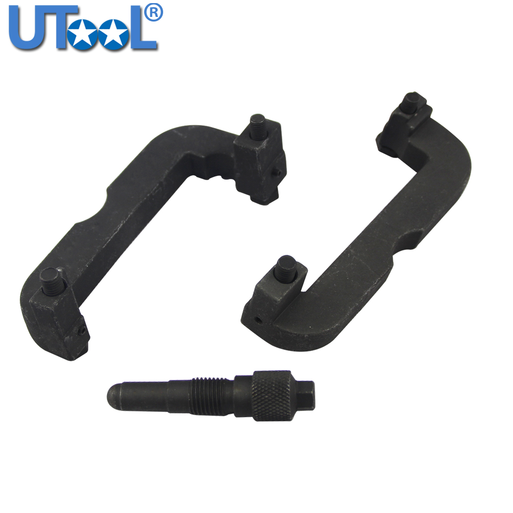 3PC T40133 T40069 Engine Camshaft Locking Clamp Timing Tool Set For Volkswagen  Audi 2.8 3.0T