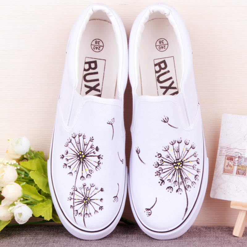 discount hot sales summer Low help canvas shoes women new lazy dancingly shoes pedal foot wrapping female casual board shoes 2015 summer shallow mouth of canvas shoes women shoes a pedal lazy shoes casual flat white shoes korean wave shoes