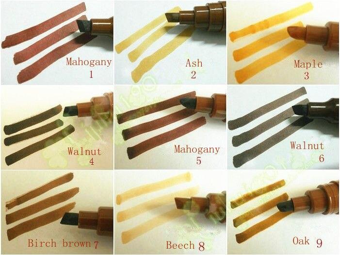 Furniture Colour Repair Pen 1 Pc Artline Furniture Marker Pen Wood Wooden  Hide Walnut White Black Ash Maple Scratch Repair Pen In Wax U0026 Polishes From  Home ...