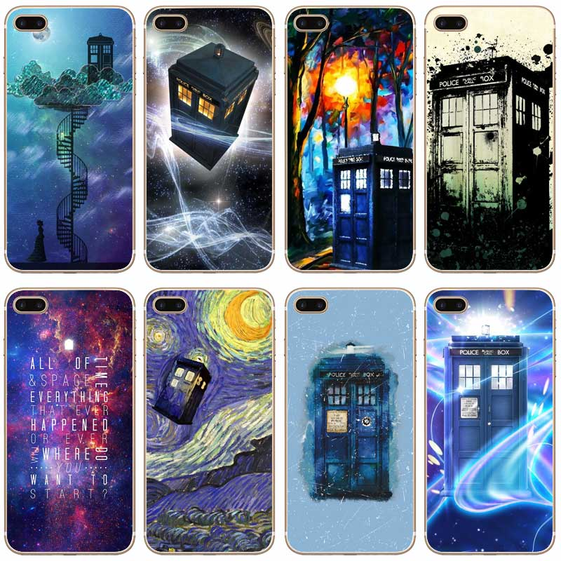 Phone Bags & Cases Brave H445 Doctor Who Tardis Series Transparent Hard Thin Case Cover For Apple Iphone Xr Xs Max 4 4s 5 5s Se 5c 6 6s 7 8 X Plus Goods Of Every Description Are Available