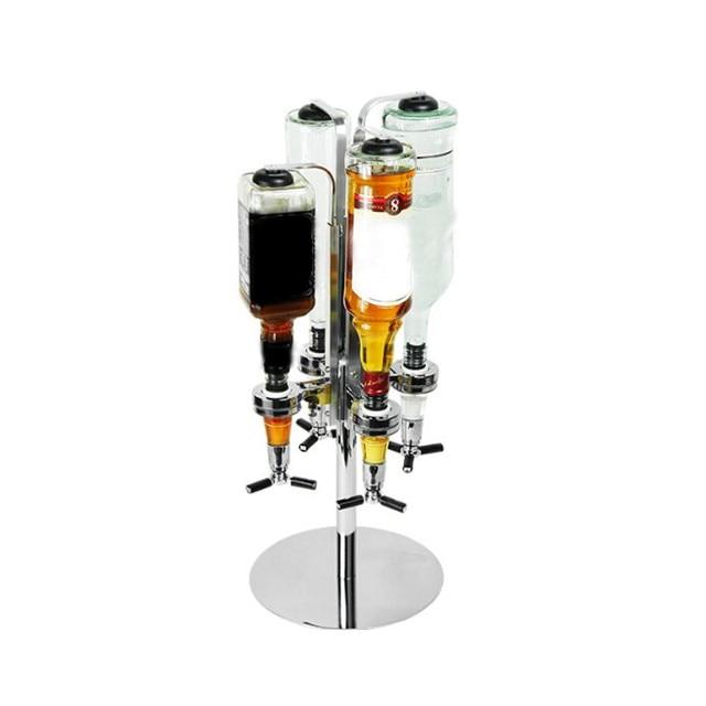 4 Head Bar Wine Pourer Party Juice Alcohol Liquor Cocktail Beer Pourer Bottle Shot Dispenser Bar Accessories Kitchen Tools