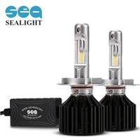 SEALIGHT Car Styling Car headlight H4 H7 led H1 H8 H9 H11 HB2 HB3 9003 9005 Led bulb 6000K Cold white 12000LM Fog Bulb Lamp 90W