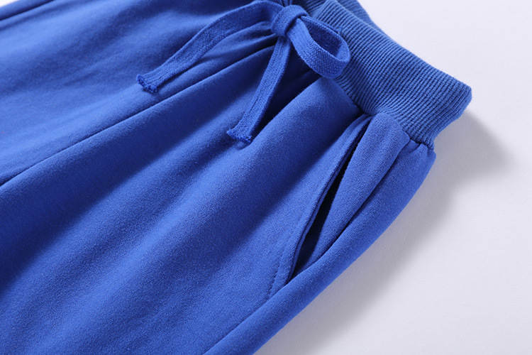 Retail New Warm Velvet Pants For 2-10 Yeas Solid Boys Girls Casual Sport Pants Jogging Enfant Garcon Kids Children Trousers 3
