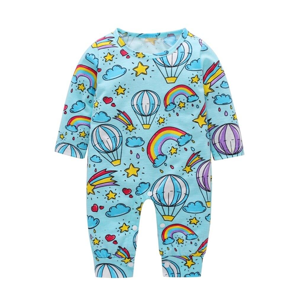 HTB1cI0RmIj B1NjSZFHq6yDWpXaG 2018 New Newborn Baby Boys Girls Romper Animal Printed Long Sleeve Winter Cotton Romper Kid Jumpsuit Playsuit Outfits Clothing