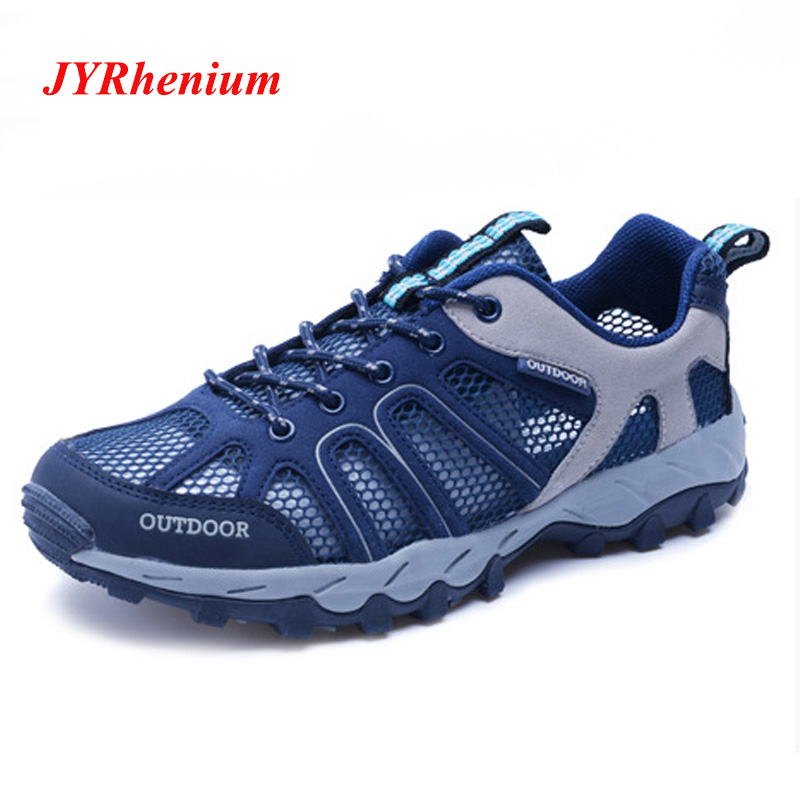 New Professional Outdoor Sneakers Men Women Hiking Shoes Outdoor Sports Camping shoes for Men Tactical Upstream Shoes Breathable in Hiking Shoes from Sports Entertainment