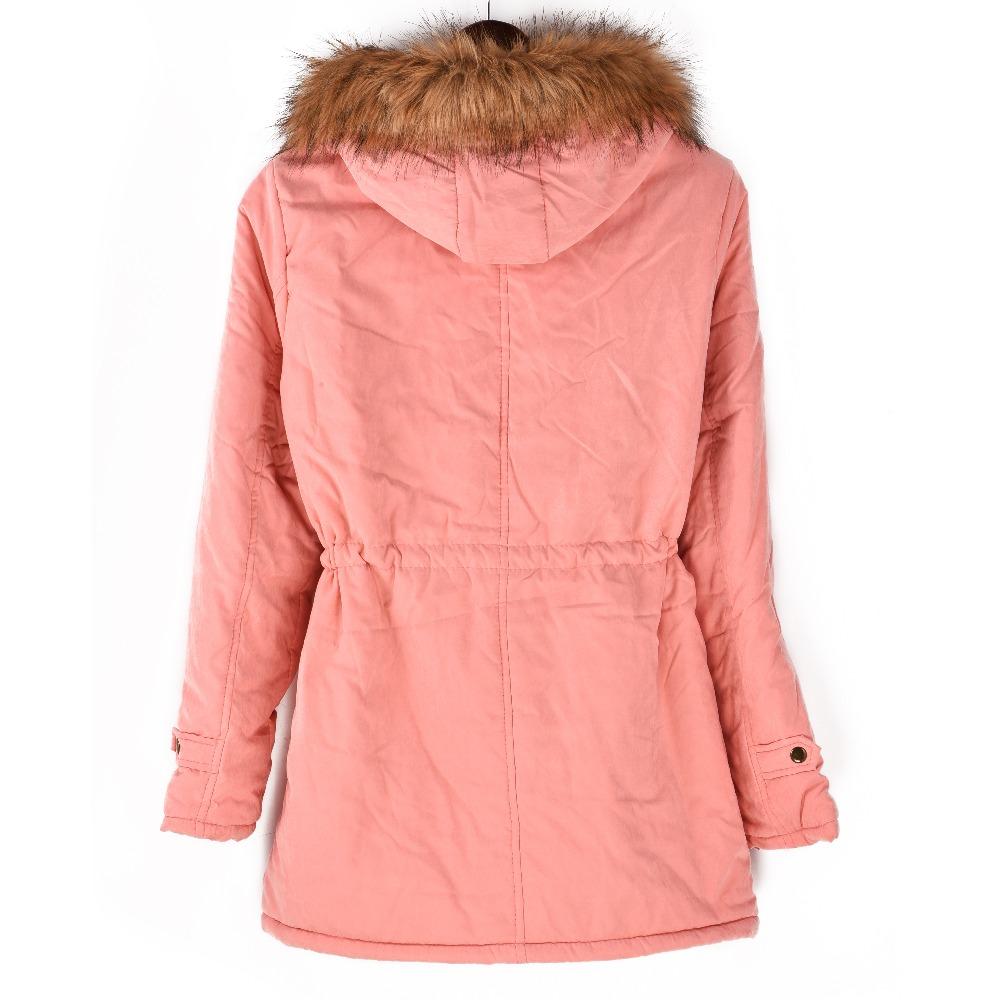 Women Thickening Cotton Winter Parka Jacket