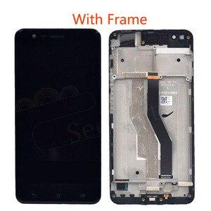 Image 2 - OLED Per ASUS ZenFone 3 Zoom ZE553KL ZE553 Z01HDA Schermo LCD Display + Touch Panel Digitizer Con Telaio Per ASUS ZE553KL LCD