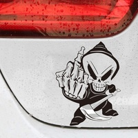 sticker motorcycle accessories New Arrival Car Sticker Cartoon Reflective Car Styling Sticker Motorcycle Car Decal Accessories 2082 (1)