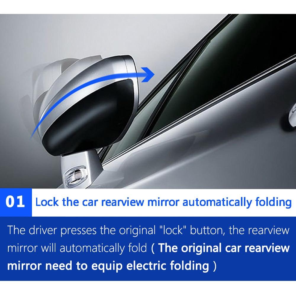 Car  Folding Mirror Automatic Control Box For Nissan X-Trail 2014-2018