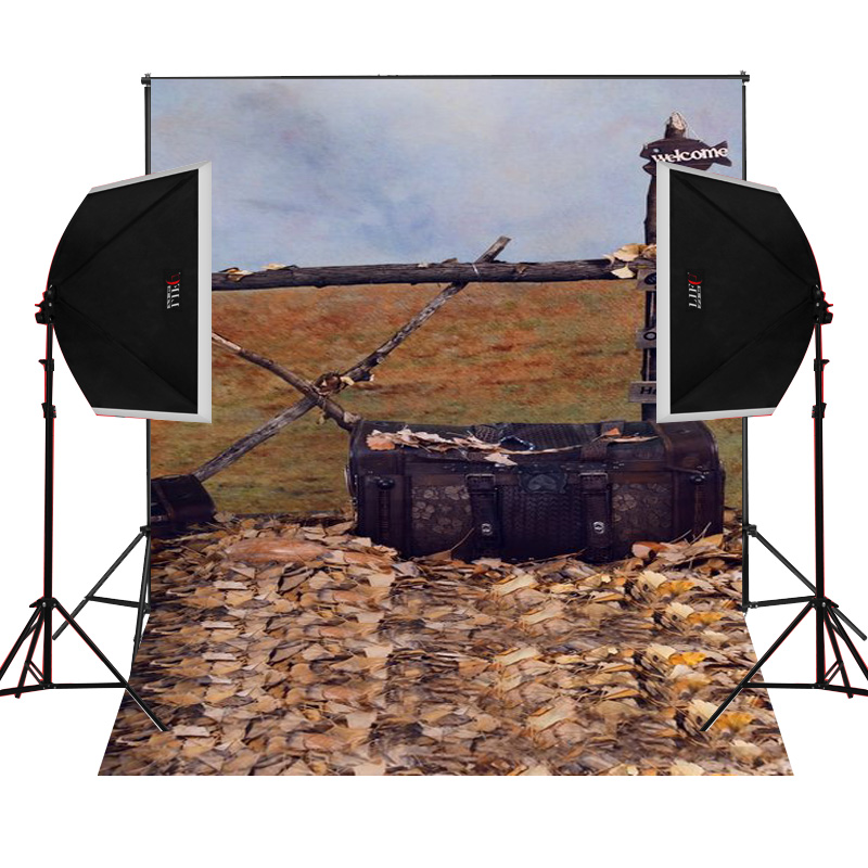 leather suitcase wild scenic for photos camera fotografica studio vinyl photography background backdrop cloth digital props