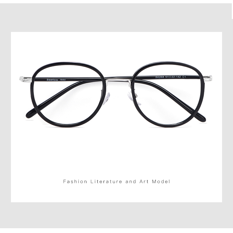Handoer S626 Full Rim Optical Glasses Frame Vintage Eyewear Spectacles Glasses Optical Prescription Frame Flexible TR 90 Eyewear in Men 39 s Eyewear Frames from Apparel Accessories
