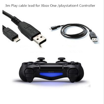 Long Usb Cable For Xbox One Controller: 3M extra long USB charging charger play cable lead for Sony for PS4 rh:aliexpress.com,Design