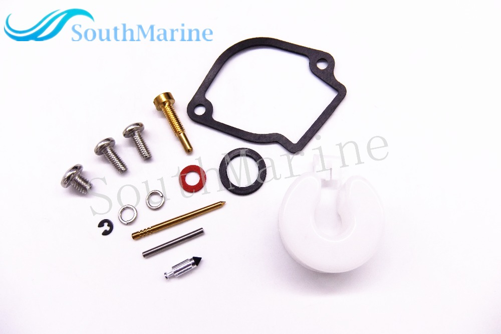Carburetor Repair Kit for <font><b>Yamaha</b></font> <font><b>2HP</b></font> 2MS <font><b>Outboard</b></font> <font><b>Motor</b></font> 6A1-W0093-01-00 6A1-W0093-00 6A1-W0093-02 6A1-W0093-03 image