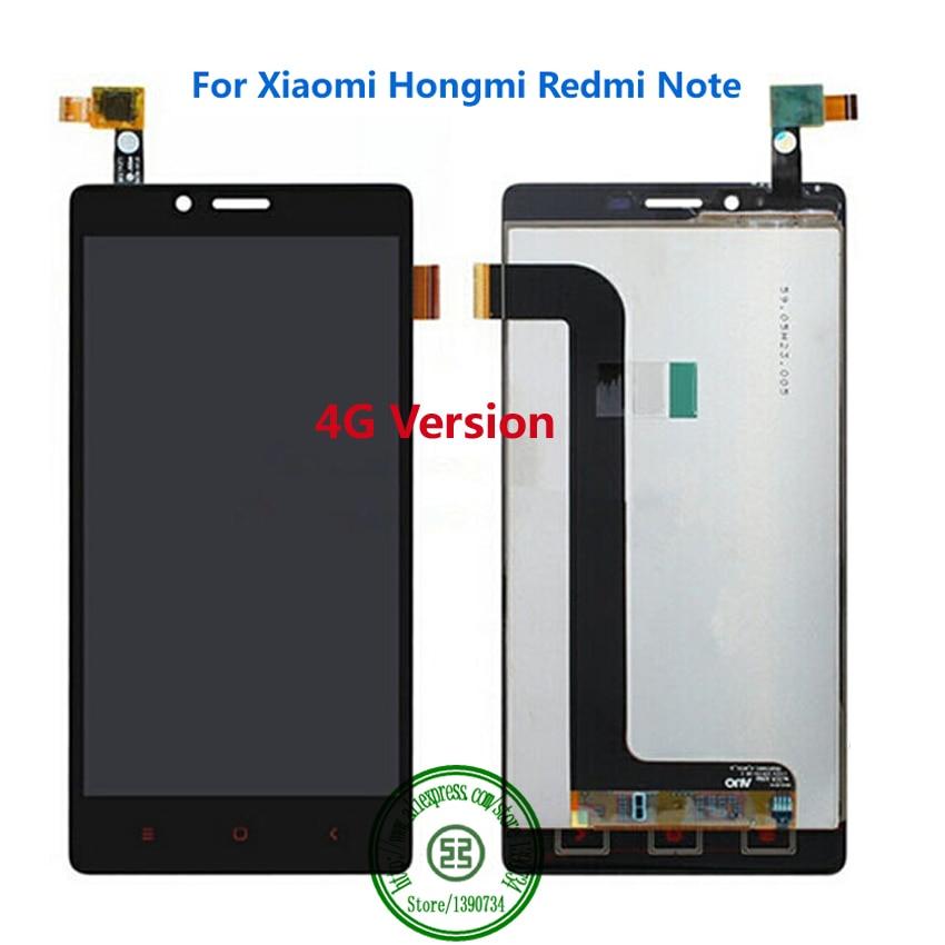 100% prueba redmi note pantalla lcd + pantalla táctil de 100% garantía Accesorio
