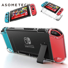 For Nintendo Nintend Switch Case Crystal Protective Hard Shell Detachable Coque Ultra Thin Bag For Nintendo64 Console NS NX Case