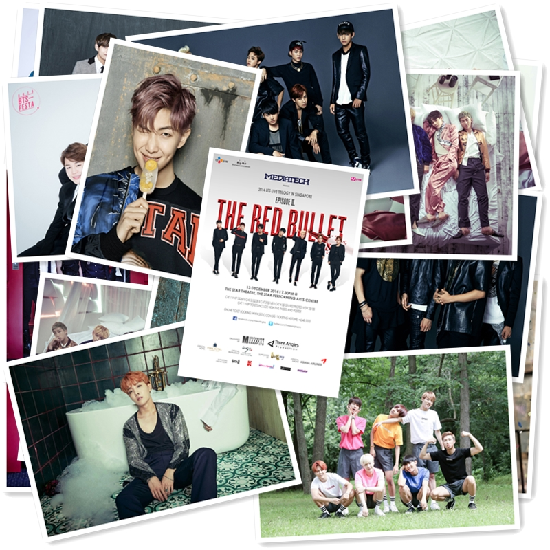 B1-30# BTS Classic Band Series 2 Sticker 20/pcs PVC Laptop Collection Gift Home Decor Fridge Styling Mixed Stickers