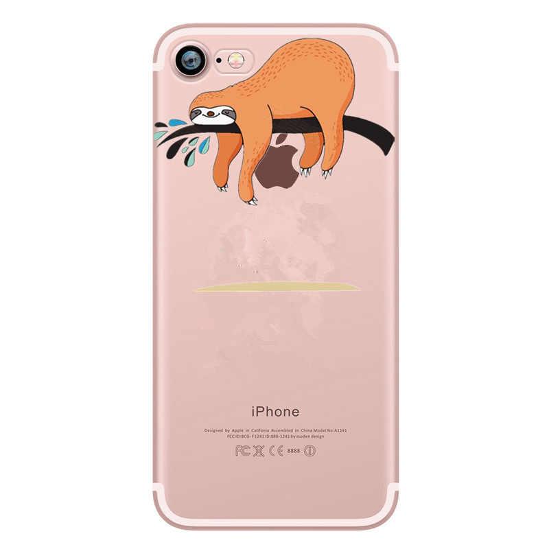 Dễ thương Phim Hoạt Hình Khuôn Mẫu Cho iphone XS MAX XR Trường Hợp Bìa Cho iphone 7 plus 8 cộng với 6 6 s 5 s se 5 Capa TPU Mềm Silicon Trường Hợp Funda