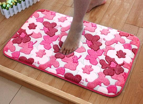Non slip bath mat doormats living room balcony area rug kitchen ...