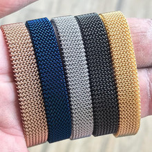 Somsoar Sieraden rvs veerkrachtig Mesh Armband luxe Polsband hand made Mesh Armband om groothandel 10 stks/partij