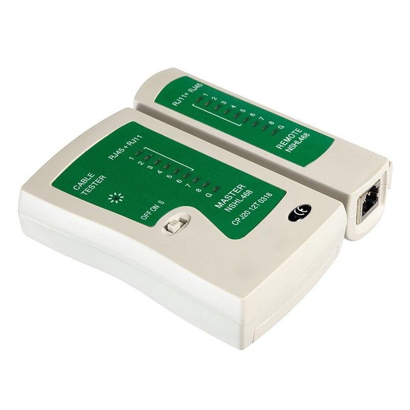 RJ45 RJ11 RJ12 CAT5 CAT 6 UTP Network Lan Cable Tester Test Tool
