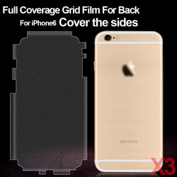 풀 커버리지 다시 화면 보호기 iphone 6 6 s 다시 화면 보호기 iphone 6 4.7 ''protective 스크린 필름 3 개 + 1 케이스