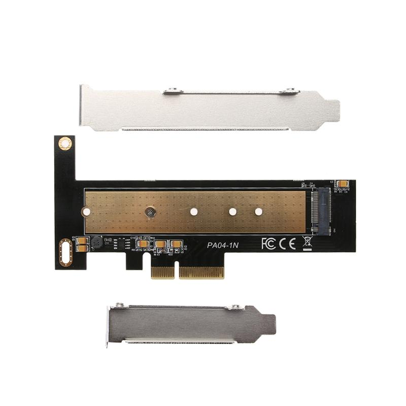 M.2 NVME/NGFF SSD to PCI Express X4 X8 X16 Adapter Converter Card Compatible With 2230 2242 2260 2280 22110 Five Specifications xp941 sm951 pm951 sm961 m 2 ngff ssd to pci e x4 lane host adapter converter card m 2 ngff to nvme with cooling fan em88