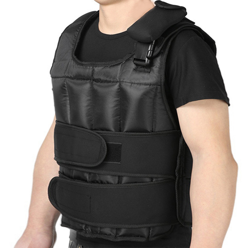 Équipement de conditionnement physique pondéré gilet gym accessoires 0-20 kg