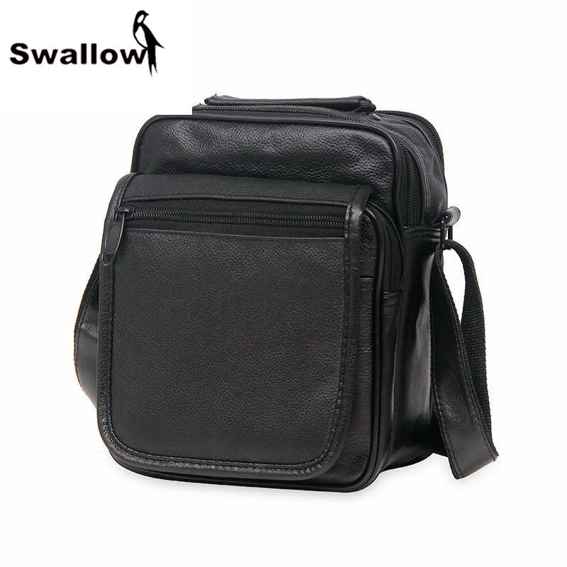 Vintage Classic Small Messenger Bags For Men With Pocket PU Leather Male Bag Fashion Man Shoulder Bags Luxury Brand High Quality limited buying mini casual bags multifunction leather messenger bag men s fashion pocket brown brand of small bags high quality