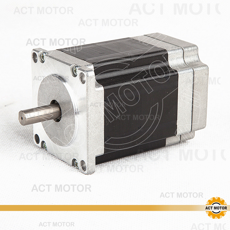 ACT Motor 1PC Nema23 Brushless DC Motor 57BLF02 24V 125W 3000RPM 3Phase Single Shaft CNC Router US CA DE UK IT FR SP BE JP Free