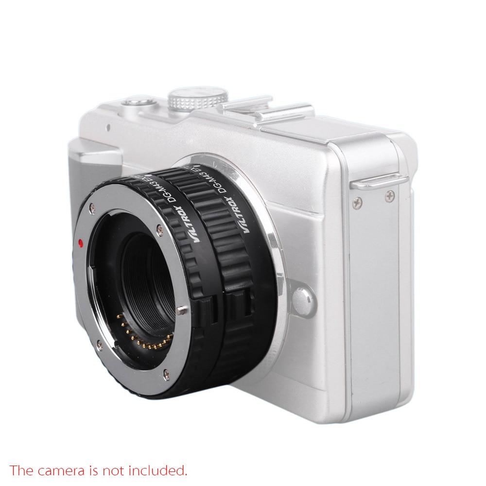 Viltrox Extension Tube Ring Auto Focus DG 10mm 16mm Set for Micro M4//3 Camera Olympus E-P1 E-P2 E-PL1 E-PL2 Panasonic G1 GF1