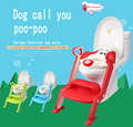 Dog baby potty toilet children potty urinal training ladder to toilet folding pee trainer kids plastic chair