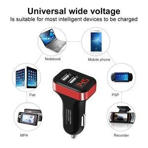 Image 5 - LED araba şarjı hızlı şarj USB iphone şarj cihazı 11 XR X artı cep telefonu için şarj araba şarjı s adaptörü Samsung için S10