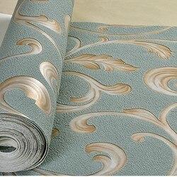 Beibehang Simple europeo hoja de escorpión versión AB ciervo cuero papel de pared dormitorio sala de estar FONDO DE TV papel tapiz